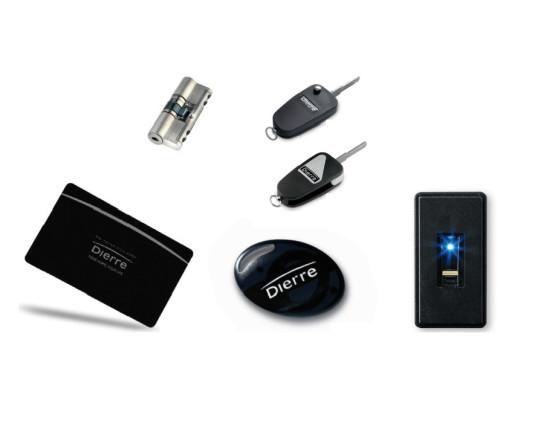 Hibry Key card, cilindro e chiavi