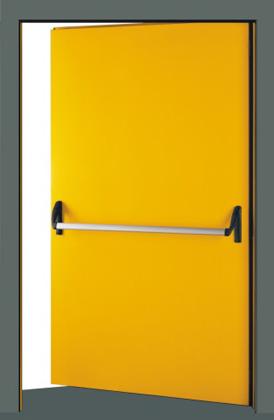 porta_tagliafuoco gialla